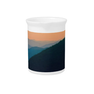 Great Smoky Mountains Drink Pitcher