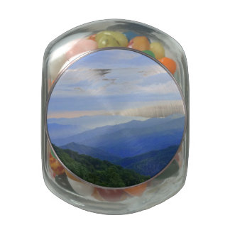 Great Smoky Mountains Glass Jars