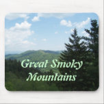 "Great Smoky Mountains Mouse Pad<br><div class=""desc"">Customize it.  Change the font or color of words,  add a name</div>"