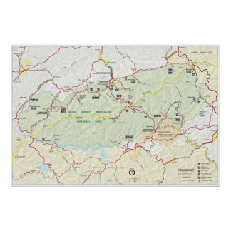Great Smoky Mountains National Monument Poster