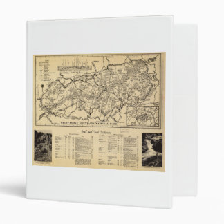 Great Smoky Mountains National Park (1940) 3 Ring Binder