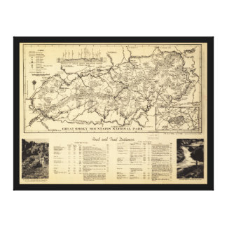 Great Smoky Mountains National Park (1940) Canvas Print