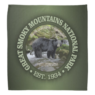 Great Smoky Mountains National Park Bandana