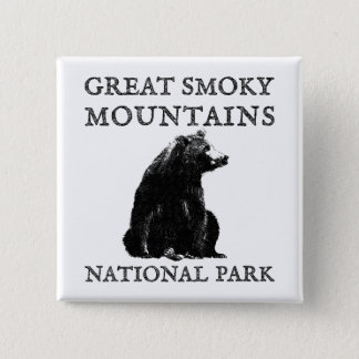 Great Smoky Mountains National Park Button
