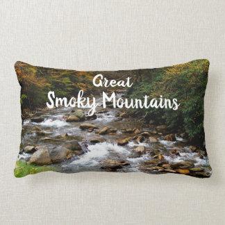 Great Smoky Mountains National Park Creek/River Lumbar Pillow