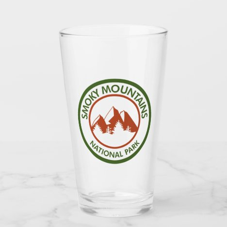 Great Smoky Mountains National Park Glass