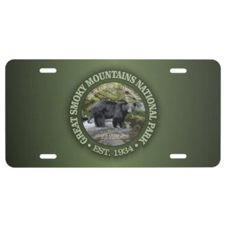 Great Smoky Mountains National Park License Plate