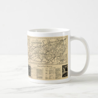 Great Smoky Mountains National Park Map (1941) Coffee Mug