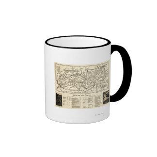 Great Smoky Mountains National Park Map Coffee Mug