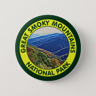 Great Smoky Mountains National Park Pinback Button