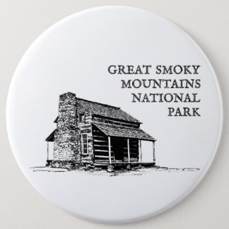 Great Smoky Mountains National Park Pinback Button