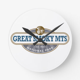 Great Smoky Mountains National Park Round Clock