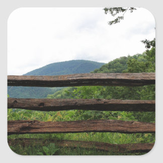 Great Smoky Mountains National Park Square Sticker