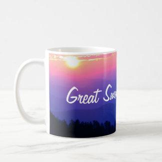 Great Smoky Mountains National Park Sunrise Coffee Mug