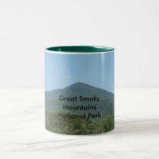 Great Smoky Mountains National Park Two-Tone Coffee Mug