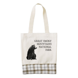 Great Smoky Mountains National Park Zazzle HEART Tote Bag