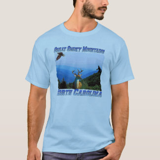 Great Smoky Mountains North Carolina Adult T-shirt