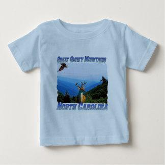 Great Smoky Mountains North Carolina Baby T-Shirt