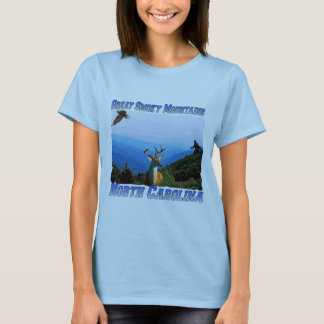 Great Smoky Mountains North Carolina Fitted Tee