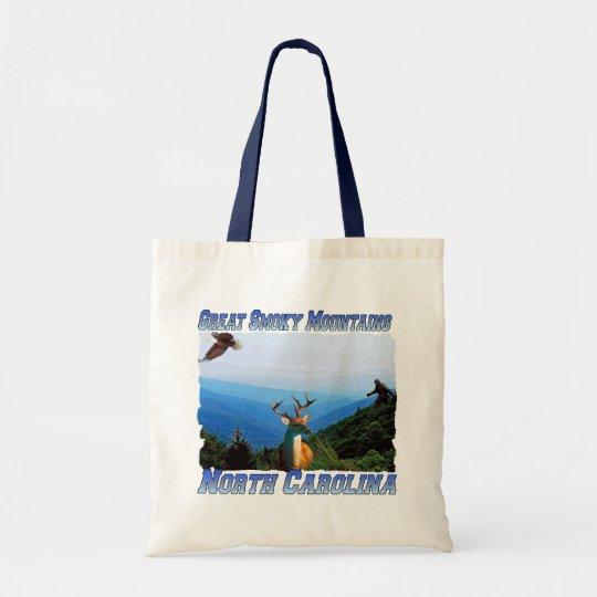 Great Smoky Mountains North Carolina Tote Bag