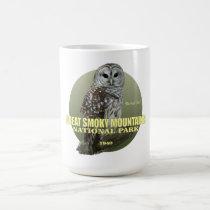 Great Smoky Mountains NP (Barred Owl) WT Coffee Mug