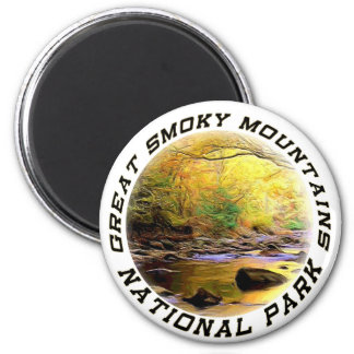 Great Smoky Mountains NP Magnet