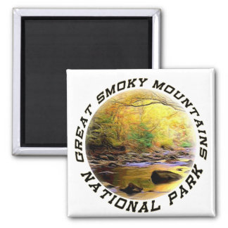 Great Smoky Mountains NP Magnet or Coaster