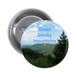 Great Smoky Mountains Pin Redondo 5 Cm