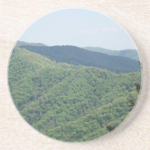 Great Smoky Mountains Posavasos Personalizados