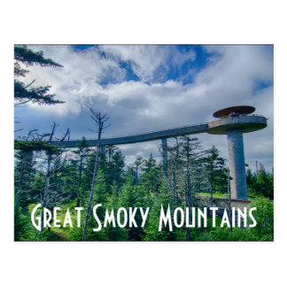Great Smoky Mountains Post Card