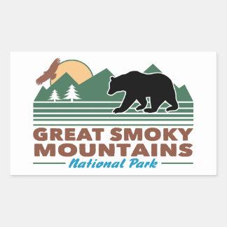 Great Smoky Mountains Rectangular Sticker