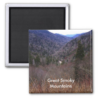Great Smoky Mountains Refrigerator Magnet