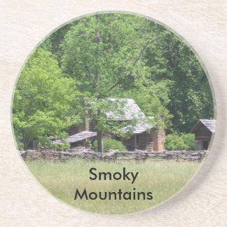 Great Smoky Mountains Sandstone Coaster