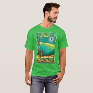 Great Smoky Mountains Solar Eclipse Tshirt