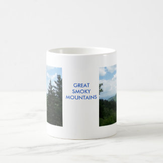 Great Smoky Mountains Taza Básica Blanca