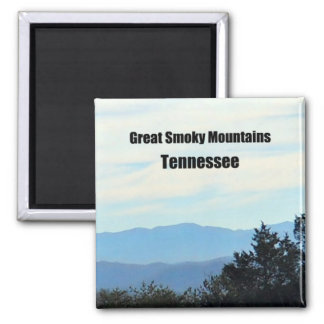 Great Smoky Mountains, Tennessee 2 Inch Square Magnet