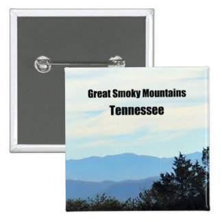 Great Smoky Mountains, Tennessee Button