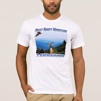 Great Smoky Mountains Tennessee Fitted T-Shirt
