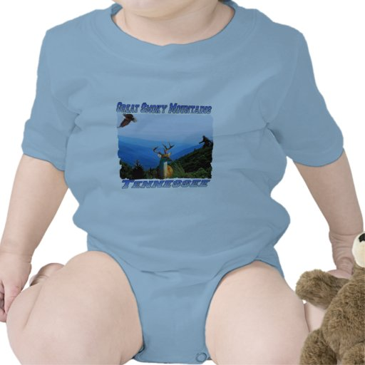Great Smoky Mountains Tennessee Infant Creeper
