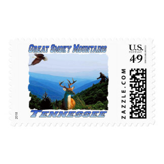 Great Smoky Mountains,Tennessee Postage Stamp