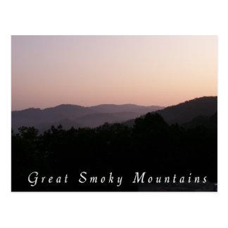 Great Smoky Mtn Postcard