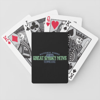 Great Smoky Mtns National Park Bicycle Playing Cards