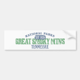 Great Smoky Mtns National Park Bumper Sticker