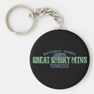 Great Smoky Mtns National Park Keychain