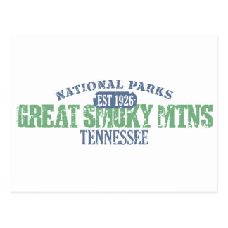 Great Smoky Mtns National Park Postcard