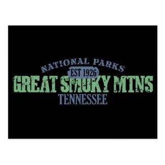 Great Smoky Mtns National Park Postcard