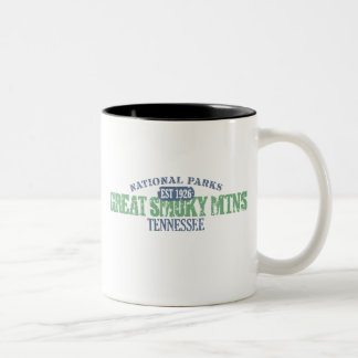 Great Smoky Mtns National Park Two-Tone Coffee Mug