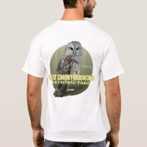 Great Smoky Mtns NP (Barred Owl) WT T-Shirt