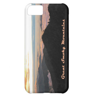 Great Smoky Mtns Sunset iPhone 5C Cover