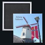"""Great Solvang Magnet! Magnet<br><div class=""""desc"""">Great Solvang Magnet! Danish City! Photo by MammaBASIL.</div>"""